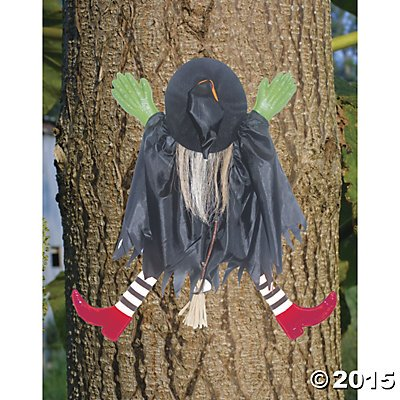 Tree Trunks Costume (Costumes for all Occasions SS82874 Tree Trunk Witch with red Shoes)