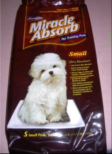 Coralite Miracle Absorb Pet Training Pads - Small