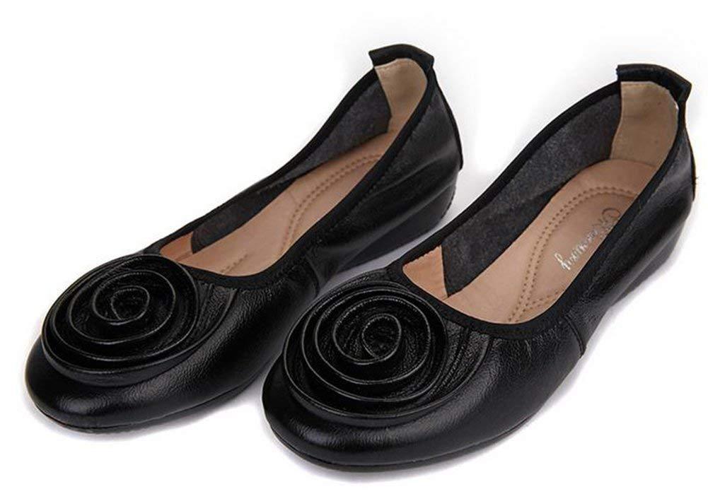 Fuxitoggo Flache Arbeiten Schuhe,Schwarz,39 Schuhe,Schwarz,39 Schuhe,Schwarz,39 (Farbe   Wie Gezeigt Größe   Einheitsgröße) 9e35b3