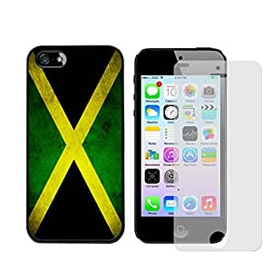 Iphone 5s Case, Jamaican Flag Slim Tough Case for Iphone 5/5s - Free Screen Protector by Maris's Diary