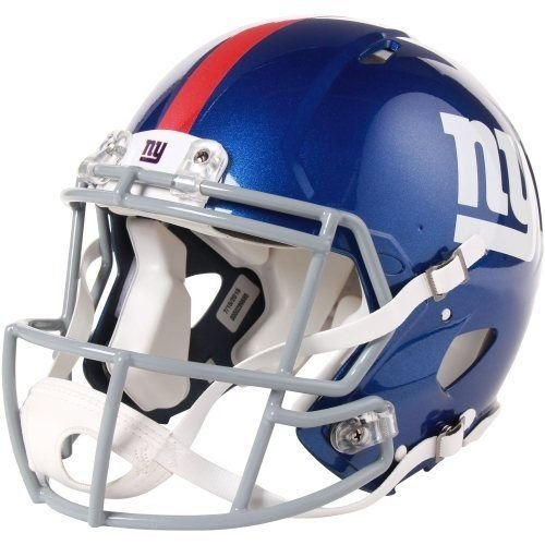 NFL New York Giants Speed Authentic Football (New York Giants Helmet)