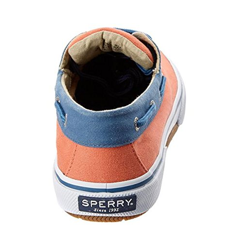 Sperry Halyard 2 Eye so Orange Bootsschuhe Segelschuhe Sneaker Herren
