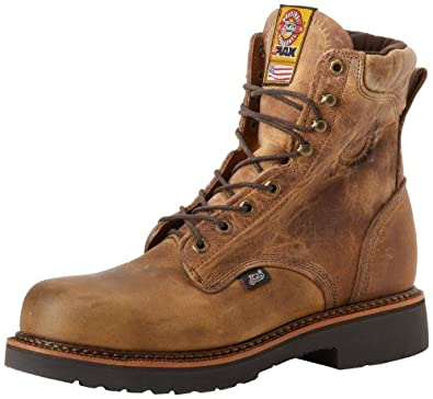 Amazon.com | Justin Original Work Boots Men's J-Max Steel Toe Work ...
