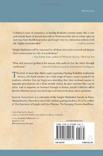 Amazon insight meditation the practice of freedom amazon insight meditation the practice of freedom 9781590300169 joseph goldstein books fandeluxe Images