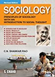 Sociology: Principles of Sociology with an Introduction to Social Thoughts