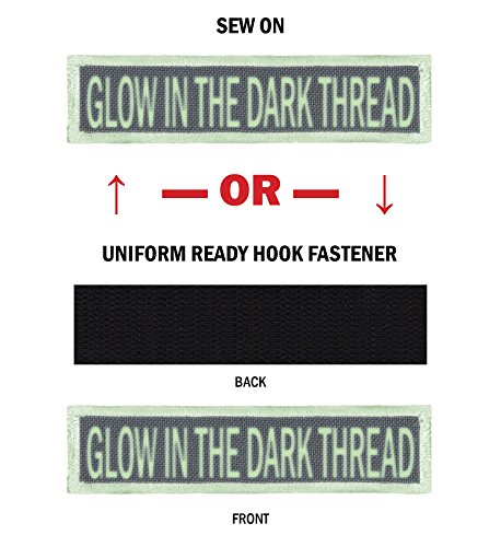 (GLOW Morale Name Tapes with GLOW Border! 1