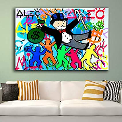 monkey Portra 24x36 no Frame Hot Selling Handcraft Modern Oil Painting On Canvas