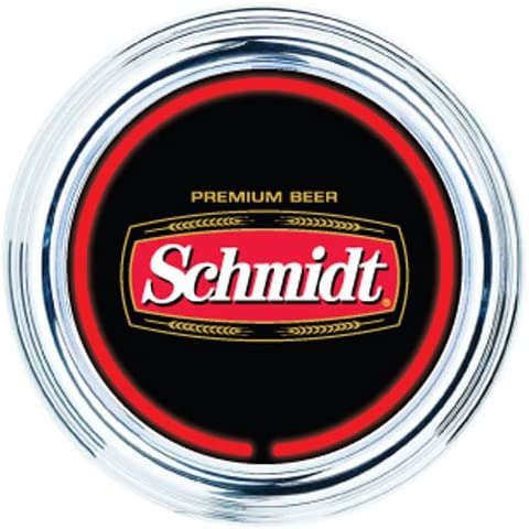 Schmidts Minn Schmidt Beer 15 in Round NEON Clock – New