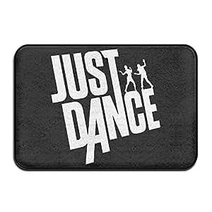 Just Dance interior/al aire libre/alfombrilla de baño Felpudo entrada terreno