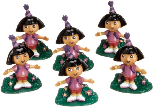 Wilton Dora the Explorer Party Toppers (Set of 6) for $<!--$2.50-->