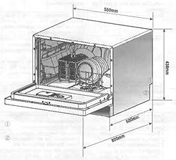 Bomann TSG 705.1 Tischgeschirrspüler / A+ / 6 Maßgedecke