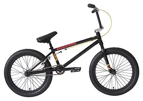 """Eastern Bikes Cobra BMX Bicycle, Gloss Black, 20""""/One Size"""