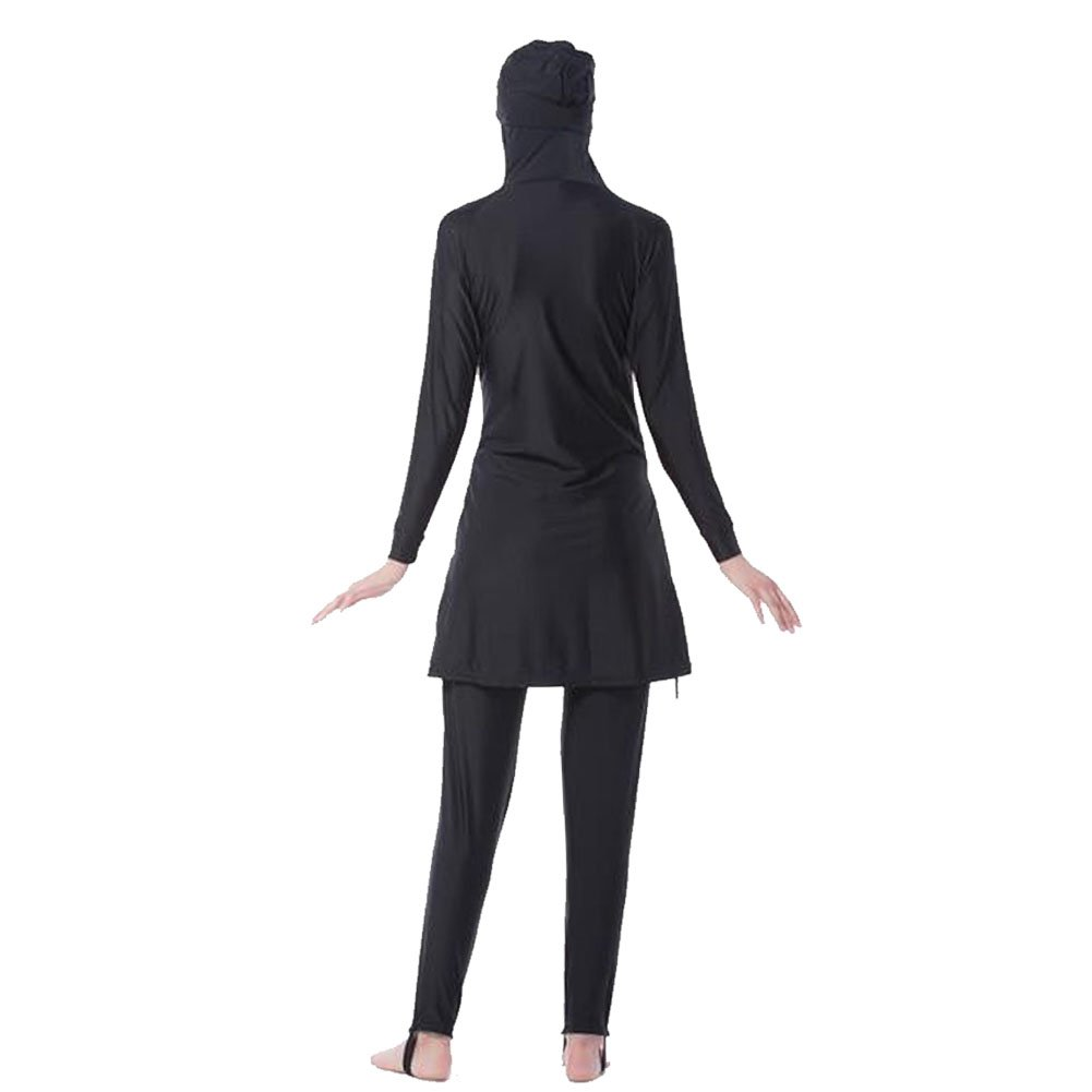 795407cc08 Meijunter Middle East Muslim Modest Full Cover Sun Protection 2-Pieces  Swimsuit Bathing Suit Islamic Arab Malaysia Hijab Swimwear Burkini  Beachwear for ...