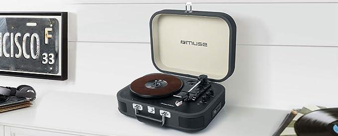 Muse Mt 201 Retro Plattenspieler Mit Bluetooth Elektronik