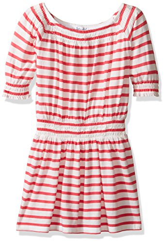 Splendid Toddler Girls' Off the Shoulder Striped Dress, D...