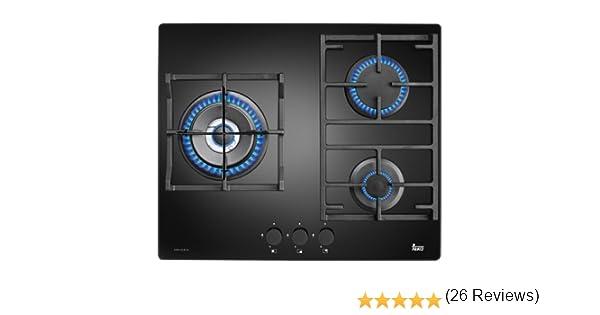 Teka CGW LUX 60 3G AI AL TR - Placa de cocción a gas (Incorporado ...