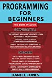 Programming for Beginners: 6 Books in 1- Powershell Programming(3 Book series) & Docker Programming(3 Book series)