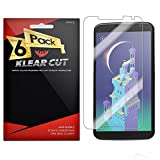 Klear Cut [6 Pack] - Screen Protector for Google Nexus 6 - Lifetime Replacement Warranty - Anti-Bubble & Anti-Fingerprint High Definition (HD) Clear Premium PET Cover - Retail Packaging