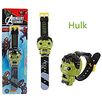 Amazon.com: Pitaya. The 3 Electric Kids Reloj Hombre Spider ...
