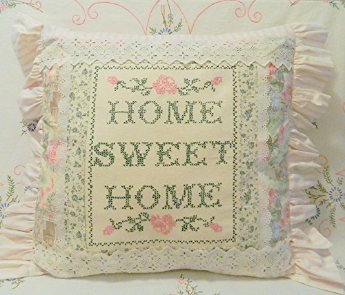 Amazon Charming Vintage Embroidery Sampler Home Sweet Home
