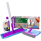 Rejuvenate Deep Cleaner and Grout Brush System, Acid Free - RJ24DCKIT