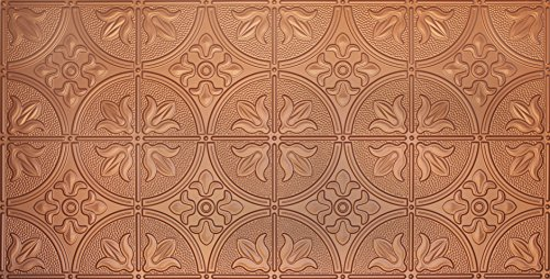 Global Specialty Products Pattern No.309 Tin Style Panel, 2 by 4-Feet, Copper