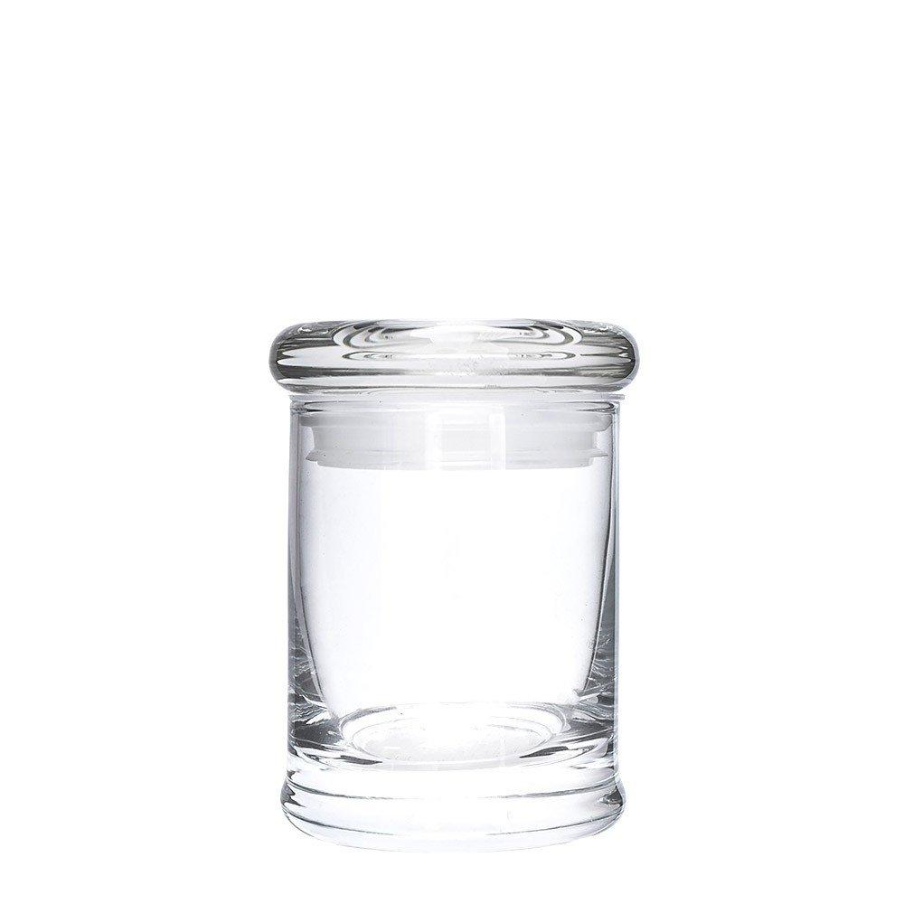 3.5 Gram Suction Lid Glass Jars (64 Jars) - MJ-GJSL64 by Verified Exchange (Image #1)