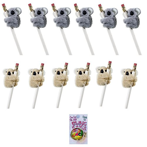 Koala Clip On Pencil Huggers 12 Pack