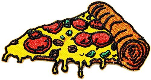 Pizza Hut Cooking Chef Kid Baby Jacket T-shirt Patch Sew Iron on Embroidered Applique Sign Badge Costum Gift Size: 3.5