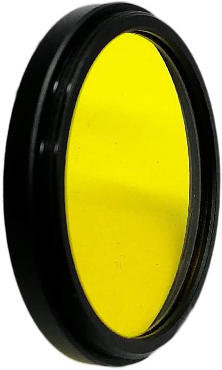 Balaweis 27mm Yellow Full Color Lens Filter for DSLR Camera Lens Accessory with 27MM Filter Thread