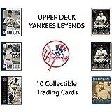 2000 Upper Deck Yankee Legends Trading Cards Pack (10 Cards per Pack) - Randomly Inserted All Pro Mint Cards - Baseball (2000 UD Yankee Legends) Babe Ruth, Lou Gehrig, Joe DiMaggio, Reggie Jackson