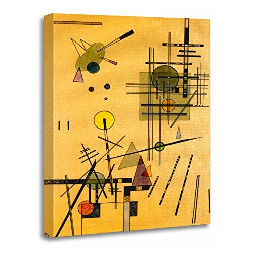Wassily Kandinsky Artwork - TORASS Canvas Wall Art Print Abstract Kandinsky Strings Russian Bauhaus Wassily Artwork for Home Decor 16