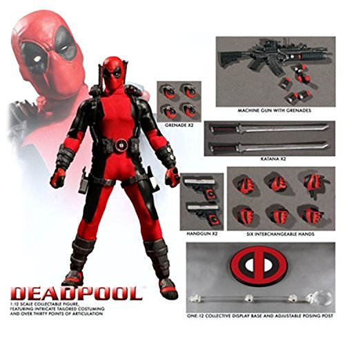 Deadpool Video Game Costumes - ONE:12 COLLECTIVE 76450