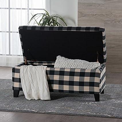 Surprising Amazon Com Matteo Plaid Pattern Fabric Square Storage Uwap Interior Chair Design Uwaporg