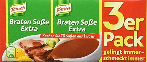 Knorr Bratensoße extra, 15er Pack (15 x 750 ml)