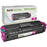 LD © Compatible Replacement for Samsung CLT-M504S Magenta Laser Toner Cartridge for use in Samsung CLP-415NW, CLX-4195FN, CLX-4195FW, SL-C1810W, and SL-C1860FW Printers