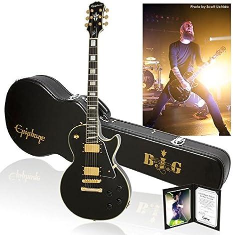 Bjorn gelotte de edición limitada Epiphone Les Paul Custom nueva guitarra eléctrica: Amazon.es: Instrumentos musicales