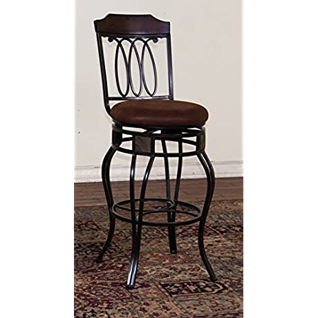 Sunny Designs Santa Fe Metal Swivel Barstool 30