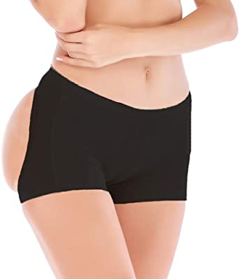 DODOING Womens Butt Lifter Enhancer Panties Shapewear Boy Shorts Panties Shaper