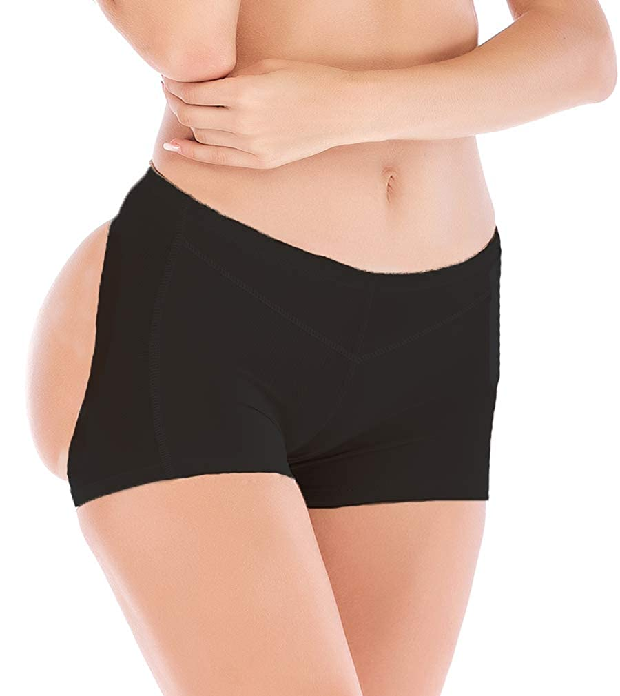 7adc9e1ed76 DODOING Women s Body Shaper Butt Lifter up Panty Underwear Tummy Control  Boy Shorts at Amazon Women s Clothing store