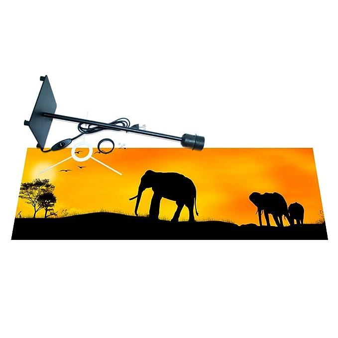 banjado - Lámpara de mesa lámpara de escritorio diseño África ...