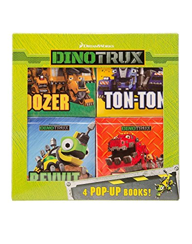Dinotrux 4 pop-up book box set