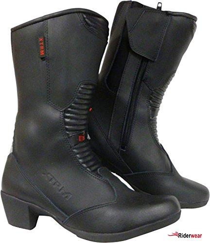 Motorradstiefel XTRM 102 Damen Stiefel Roller Stiefel Tourenstiefel mit Absatz 40