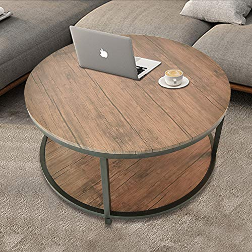 36 Inch Round Wood Table - 36