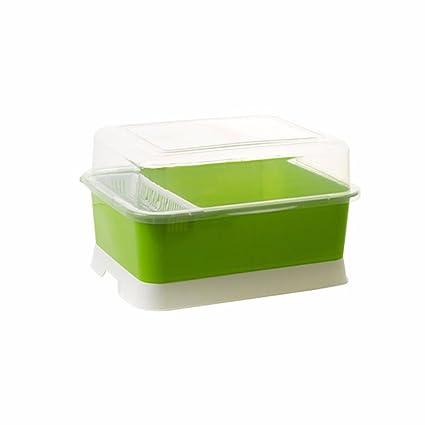 SSBY Cocina de plástico recipiente de drenaje, armario ...