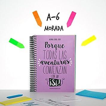 TODOIDEAS AGENDA 2017 A6 MORADA: Amazon.es: Oficina y papelería