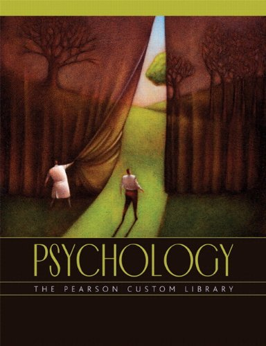 The Pearson Custom Library Psychology