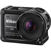 Nikon KeyMission 170 - Black Australian Warranty Nikon KeyMission 170 - Black, Black (VQA030AA)