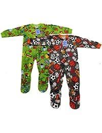 Footed Pajamas/Blanket Sleepers (Pack Of 2)