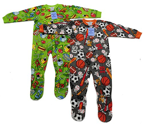 95558C-12MO Prince of Sleep Footed Pajamas / Blanket Sleepers (Pack of (Footed Pajamas Blanket Sleeper)